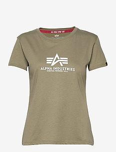 New Basic T Wmn - t-shirts - olive