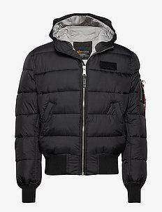 Hooded Puffer FD V - BLACK