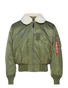 B15 - bomberjakker - sage-green