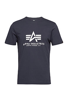 Alpha Industries Basic T Shirt Navy