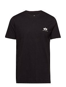 Basic T Small Logo - t-shirts - black