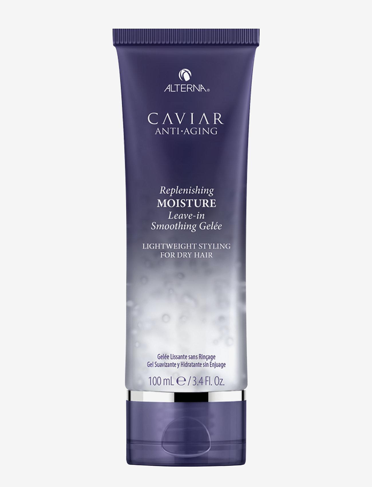 Alterna - CAVIAR ANTI-AGING MOISTURELEAVE-IN SMOOTHING GELEE - vahat & geelit - no color - 0