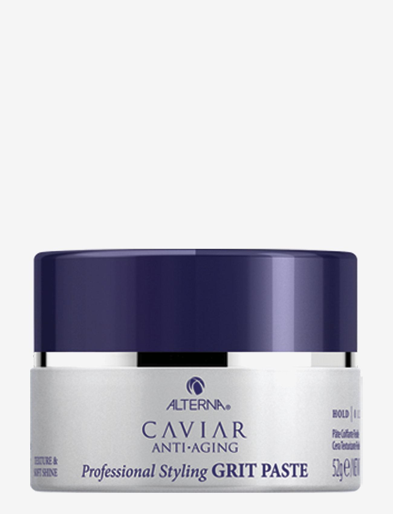 Alterna - CAVIAR ANTI-AGING STYLING GRIT PASTE - vahat & geelit - no color - 0