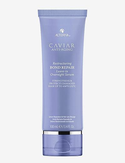 CAVIAR ANTI-AGING BOND REPAIR REPAIR OVERNIGHT SERUM - hårkur - no color