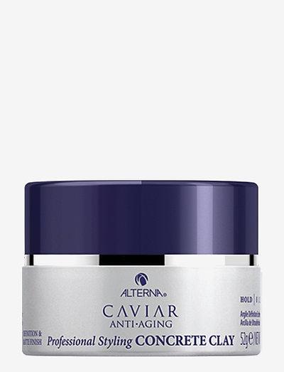 CAVIAR ANTI-AGING STYLING CONCRETE CLAY - voks & gel - no color