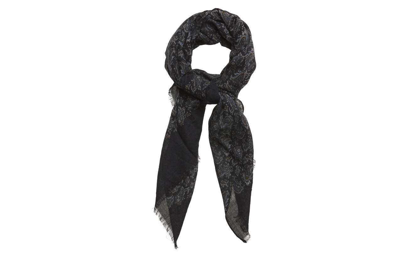 Amanda Christensen Single Scarf - NAVY