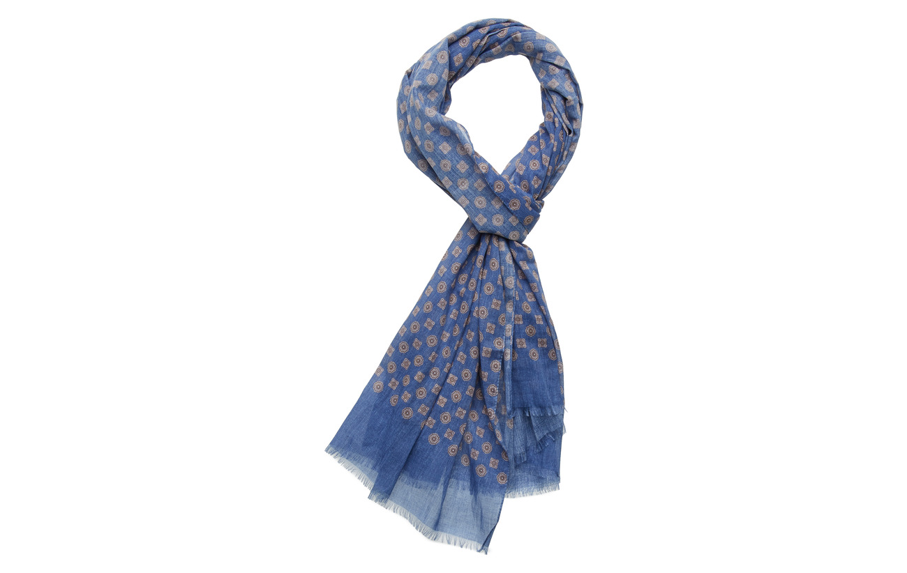 Single Printed Christensen Single ScarfblueAmanda Printed K3Fl1JcuT