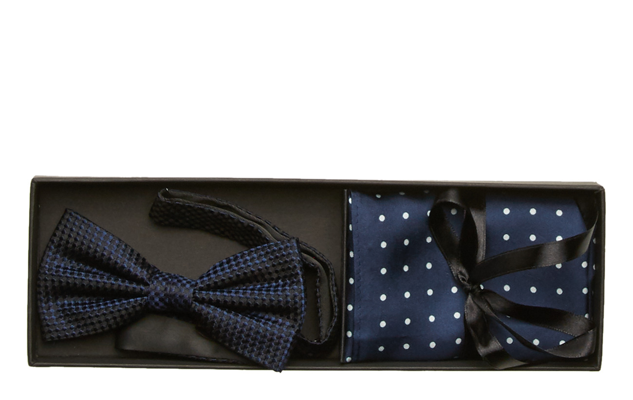 Amanda Christensen Pre Tie & Pocket - NAVY