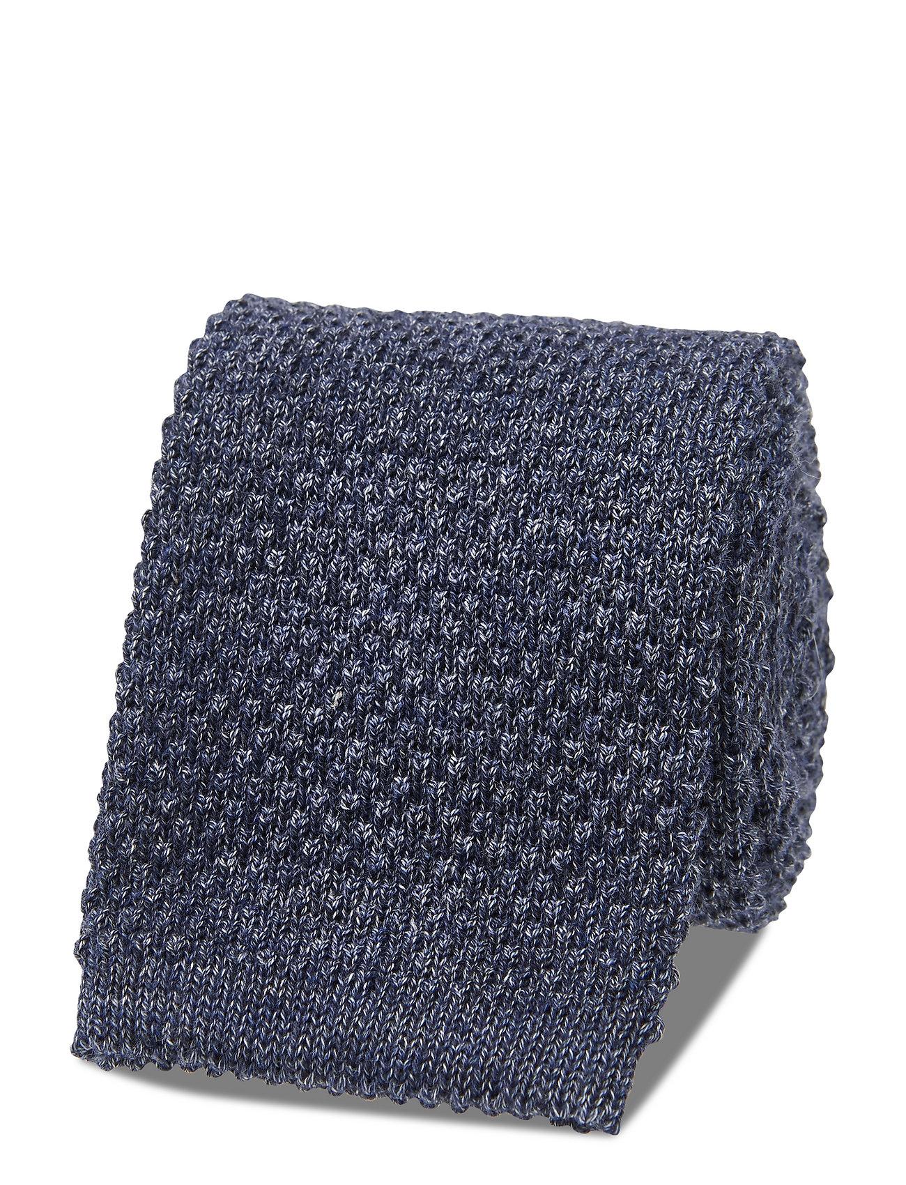 Image of Knitted Tie Slips Blå Amanda Christensen (3459525141)