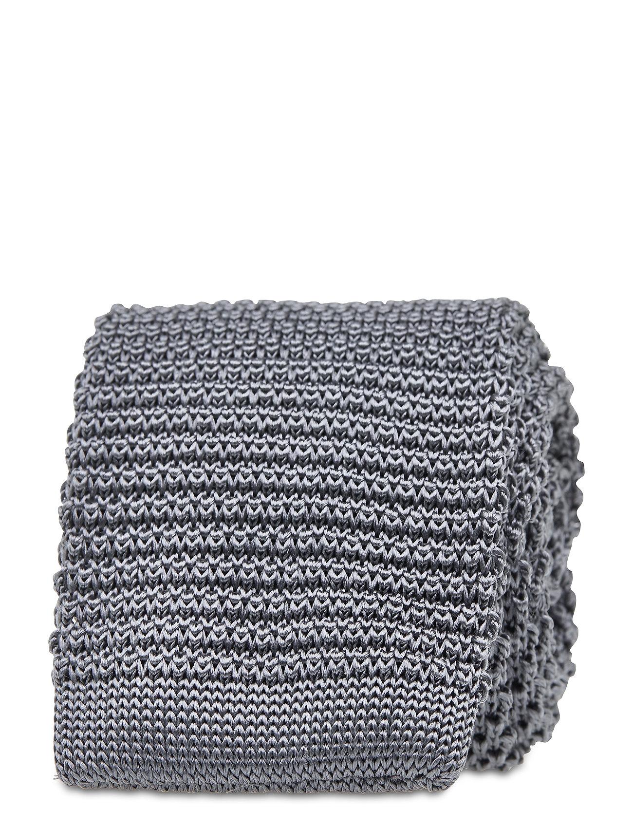 Image of Knitted Tie Slips Grå Amanda Christensen (3475121315)