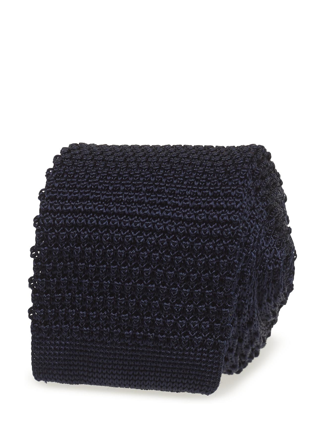 Image of Knitted Tie Slips Blå Amanda Christensen (3472183931)