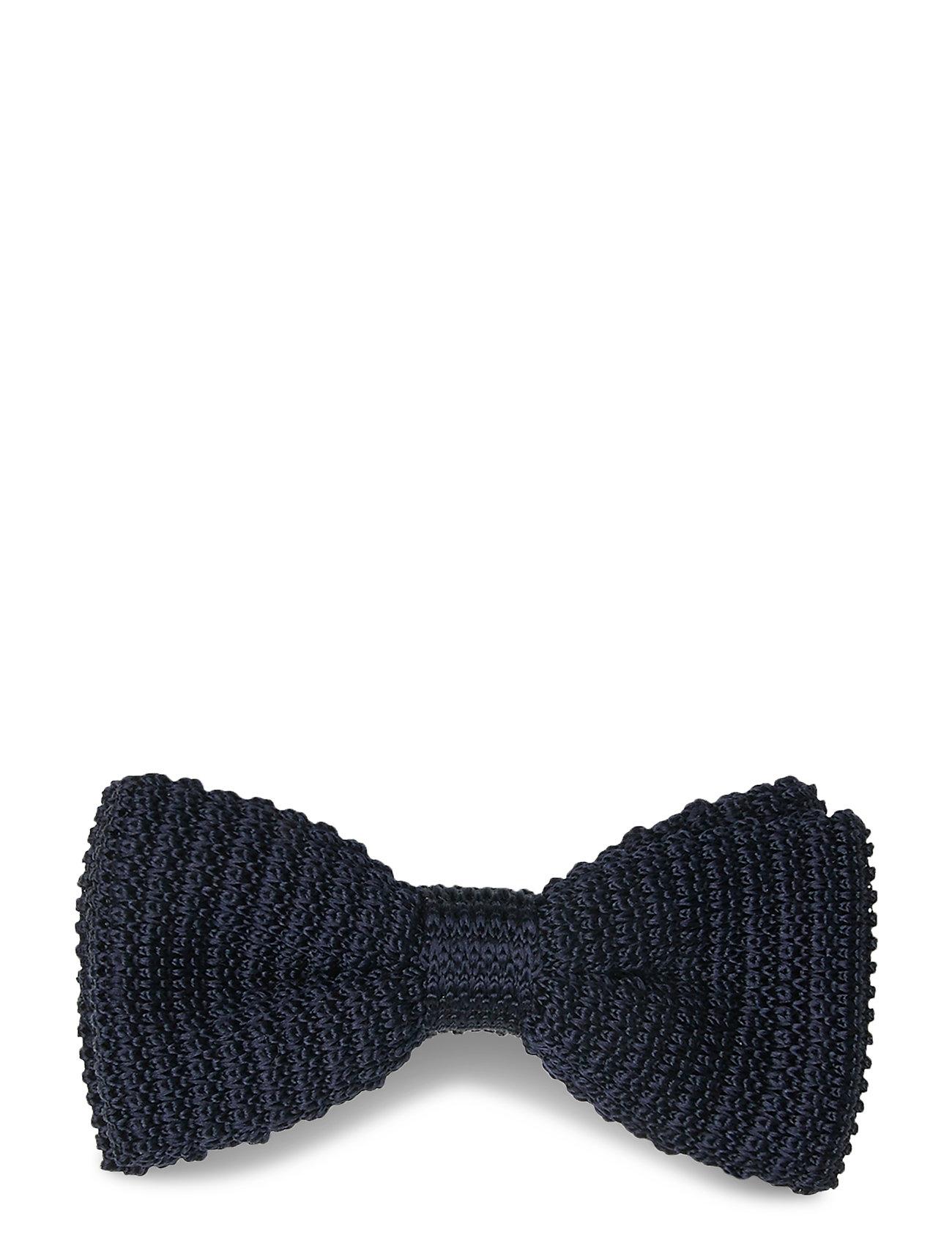 Image of Knitted Bow Tie Butterfly Blå Amanda Christensen (3474794127)
