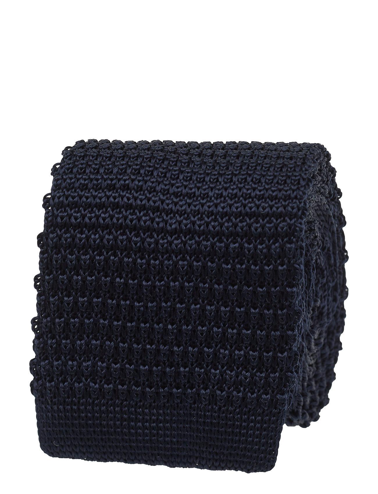 Image of Knitted Tie Slips Blå Amanda Christensen (3478880363)