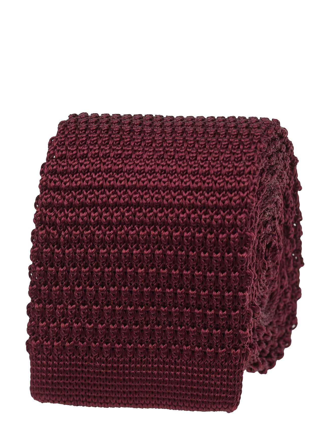 Image of Knitted Tie Slips Rød Amanda Christensen (3478880359)