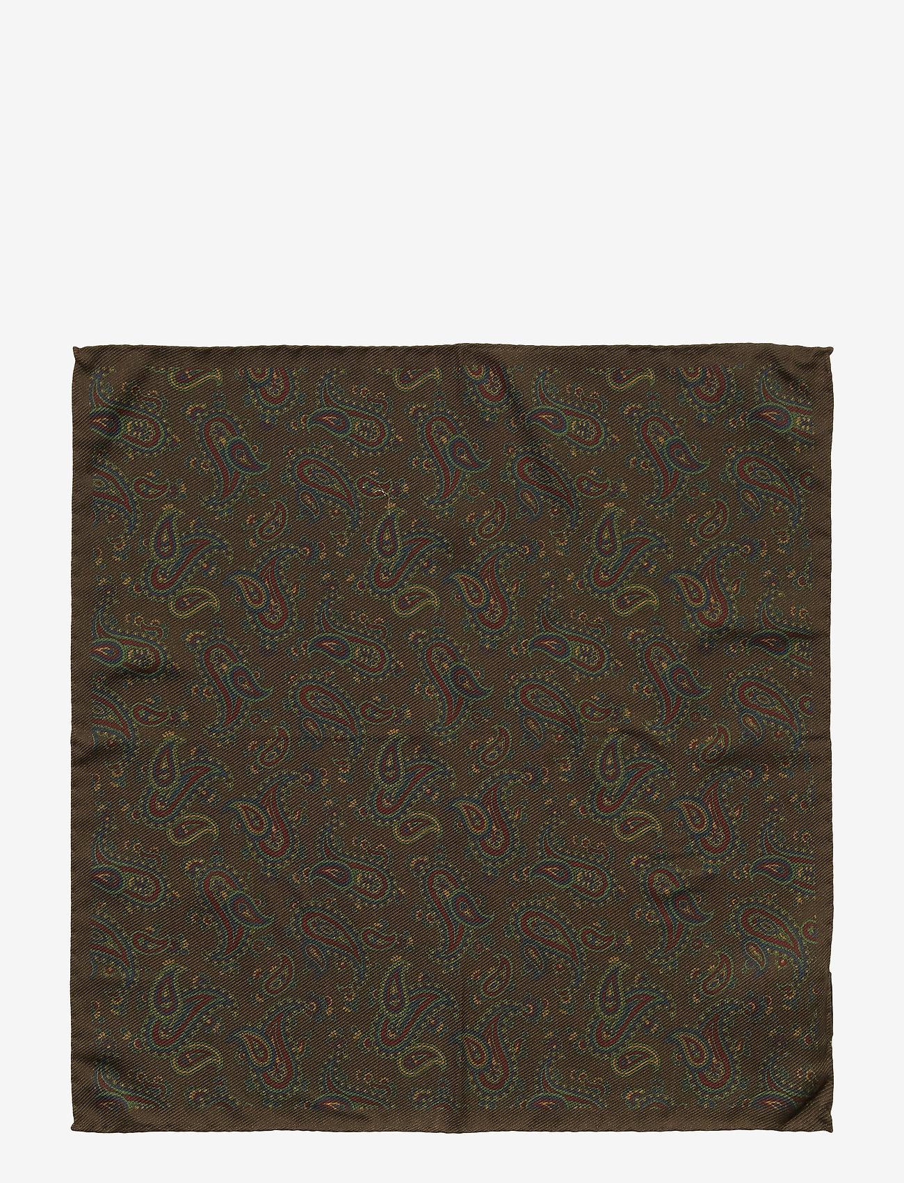 Amanda Christensen Pocket Square - Slipsar & Accessoarer Brown