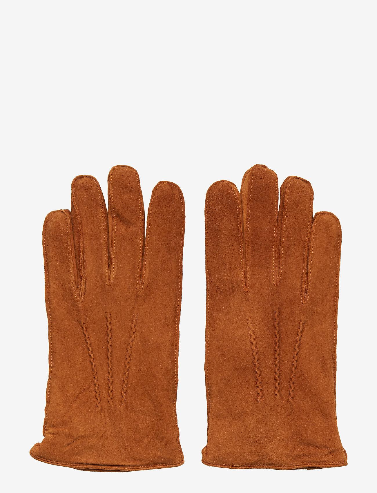 Amanda Christensen - Mens Glove - gants - cognac - 0