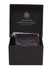 Tie & Pocket Square Box - BROWN