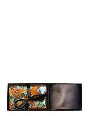 Tie & Pocket Square - ORANGE