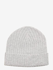 Amanda Christensen - Pure Cashmere Beanie - bonnet - lt grey melange - 0