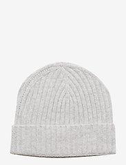 Amanda Christensen - Pure Cashmere Beanie - bonnet - lt grey melange - 1
