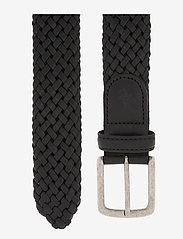 Amanda Christensen - Belt - kudottu vyö - black - 1
