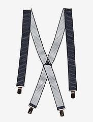Amanda Christensen - Suspenders - hängslen - navy - 1