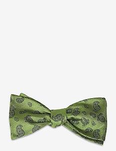 Self Tie Silk - nœud papillon - green/navy