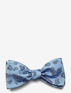 Self Tie Silk - nœud papillon - sky blue/navy