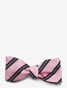 Self Tie Silk - nœud papillon - pink/navy