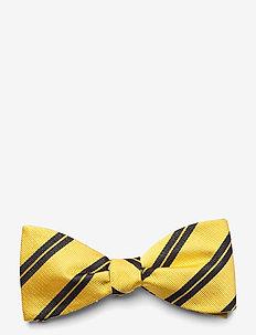 Self Tie Silk - nœud papillon - yellow/navy