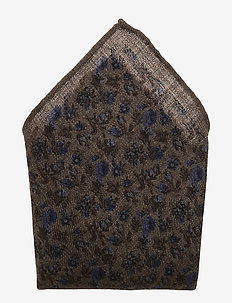 POCKET SQUARE - poszetka - brown