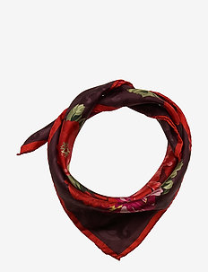 Single Scarf - sjaals - wine red