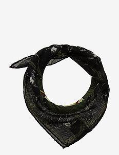 Single Scarf - szaliki i chusty - black