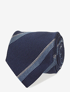 Jacquard Half Bottle Tie - SKY BLUE