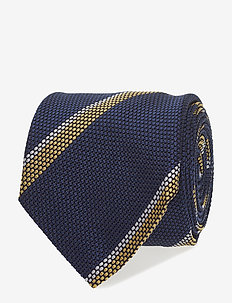 Jacquard Half Bottle Tie - YELLOW
