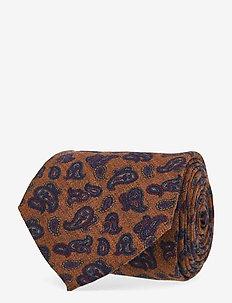 Classic Tie - ties - dark orange