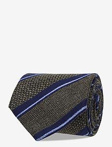 Classic Tie - ties - dark olive