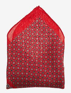Pocket Square - poszetka - red