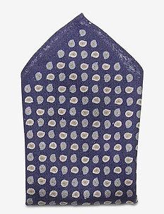 Pocket Square - poszetka - navy