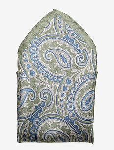 Printed Pocket Square - pocket squares - light green