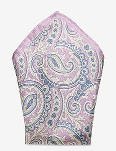 Printed Pocket Square - näsdukar - light lilac