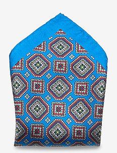 Pocket Square - poszetka - napoli blue