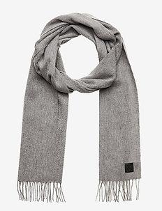 Cashmere Blend Scarf - scarves - lt grey melange