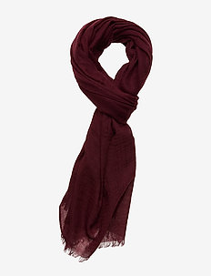 Single Scarf - huivit - wine red