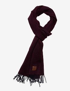 Scarf - sjaals - bordeaux