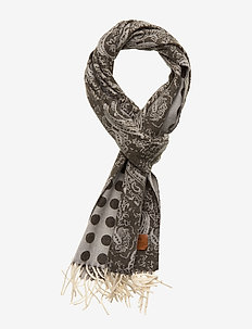 Double Face Scarf - sjaals - olive