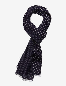 Double Face Scarf - huivit - navy