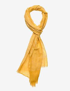 Single Scarf - skjerf - yellow