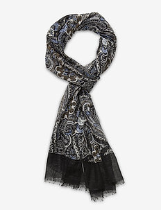 Single Scarf - sjaals - black