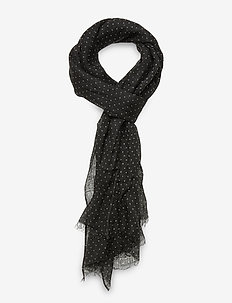 Single Scarf - huivit - black